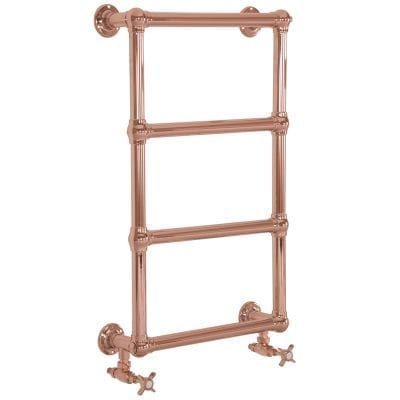 Bassingham Copper Towel Rail - 770mm x 500mm 11