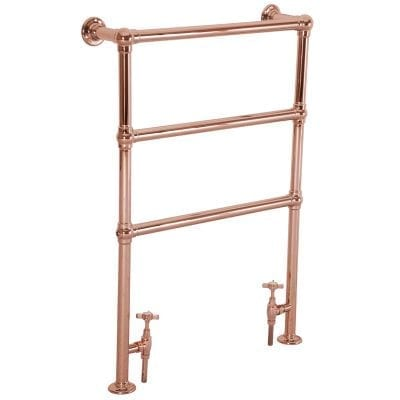 Beckingham Copper Towel Rail - 965mm x 670mm 9