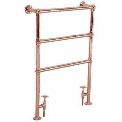 Beckingham Copper Towel Rail - 965mm x 670mm 10