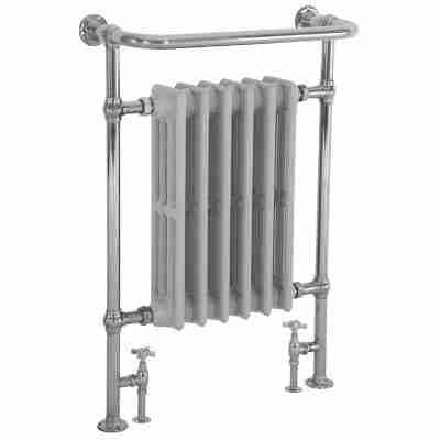 Broughton Towel Rail Chrome - 965mm x 675mm 6