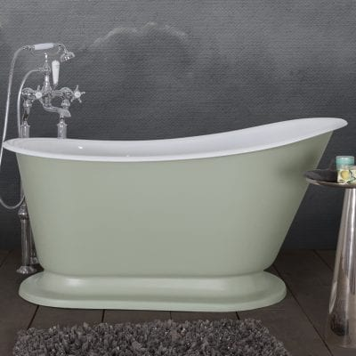 Cameo Cast Iron Bath 9