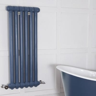 Carsington 1 Column Cast Iron Radiator 2