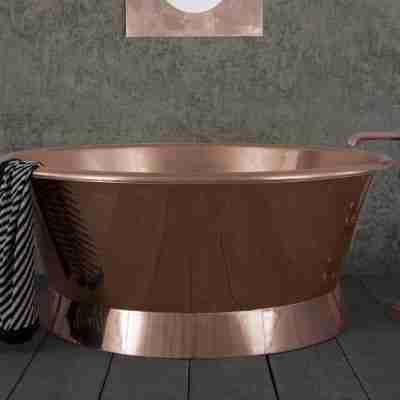 Copper Baignoire Bath 13