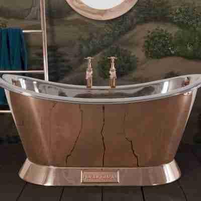 Copper Bateau 1500mm Bath 12