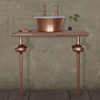 Globe Legs Copper (Set of 2) 10