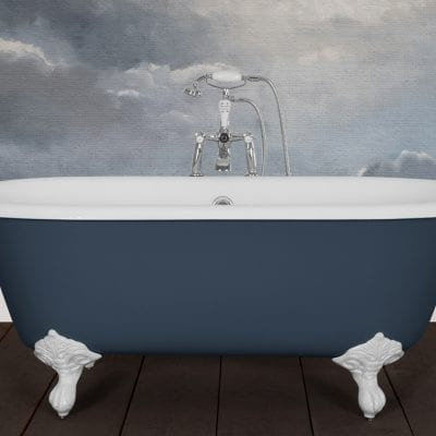 Dryden Small Cast Iron Bath 10