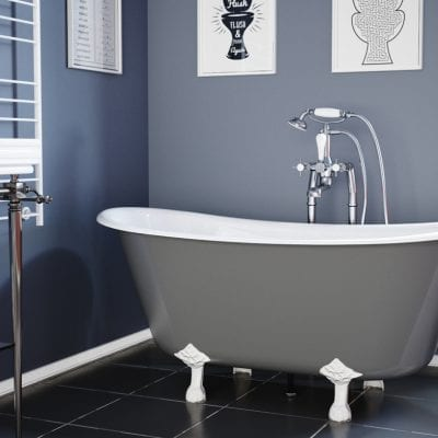 Prior Cast Iron Bath 6