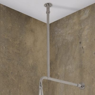 Nickel Shower Arm 8