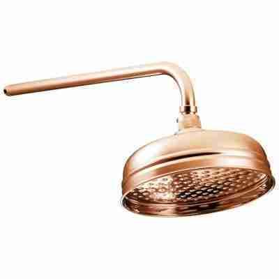 """Copper Shower Rose 8"""" 1"""