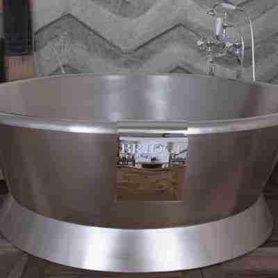Torino Tub Stainless Steel Bath 8