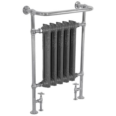 Wilsford Towel Rail Chrome - 965mm x 675mm 13