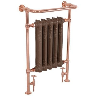 Wilsford Towel Rail Copper - 965mm x 675mm 4
