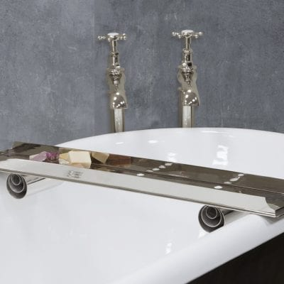 Nickel Bath Caddy 13