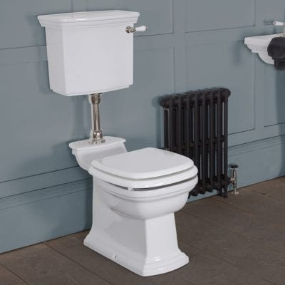Chichester Low Level Traditional Toilet - WC, Cistern & Pan 6