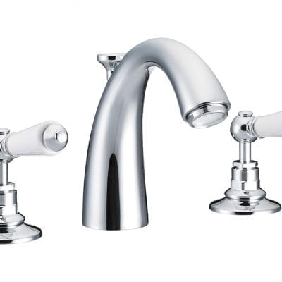 Classical Spout Basin Mixer Taps Chrome 13