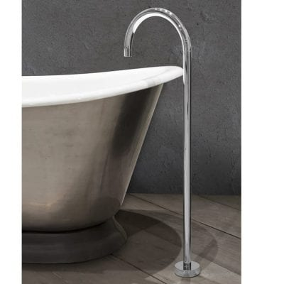 Floor Mounted Bath Spout Chrome 9