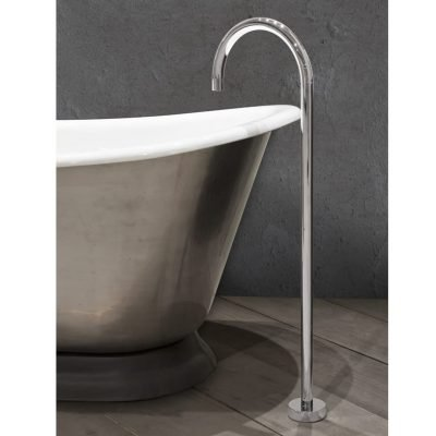 Floor Mounted Bath Spout Nickel 13