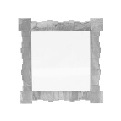 Segmental Square Nickel Mirror 5
